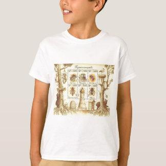 Ukrainian Beekeeping Stamp T-Shirt