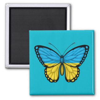 Ukrainian Butterfly Flag Magnet