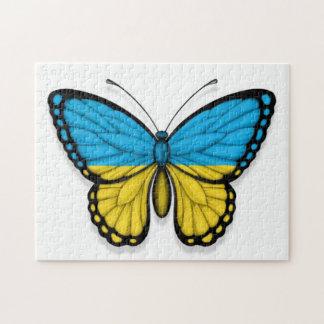 Ukrainian Butterfly Flag Jigsaw Puzzles