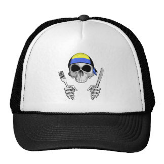 Ukrainian Chef 4 Mesh Hats