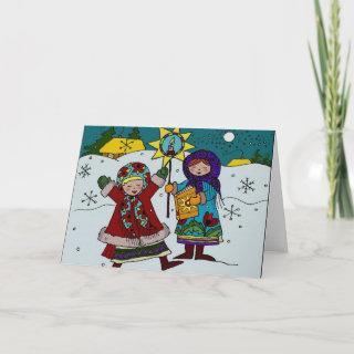 Ukrainian Christmas Carollers