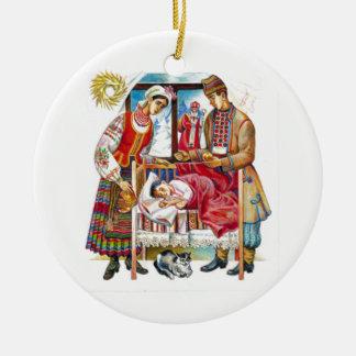 Ukrainian Christmas Day Ornament