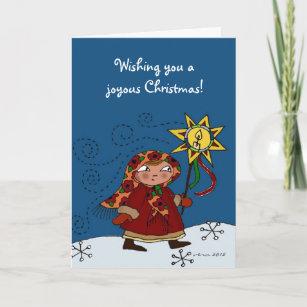 Ukraine ukrainian christmas cards zazzle ukrainian christmas star holiday card m4hsunfo