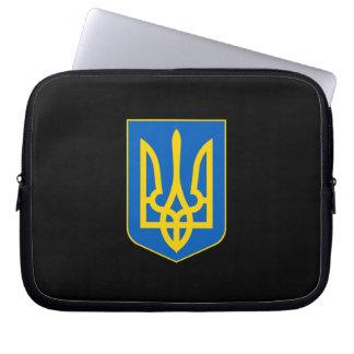 Ukrainian coat of arms laptop sleeve