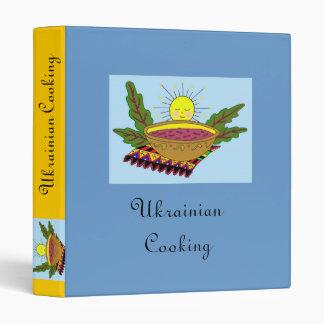 Ukrainian Cooking Binder