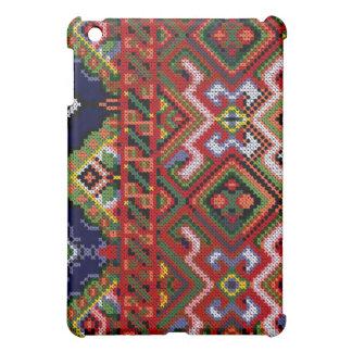 Ukrainian Cross Stitch Embroidery iPad Hard Case Cover For The iPad Mini