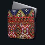 """Ukrainian Cross Stitch Embroidery Zippered Neopren Laptop Sleeve<br><div class=""""desc""""></div>"""