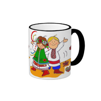 Ukrainian Dance! Ringer Coffee Mug