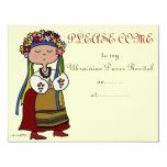 Ukrainian Dance Recital 4.25x5.5 Paper Invitation Card