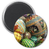 Ukrainian Easter Eggs refrigerator magnet
