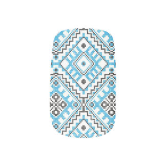 Ukrainian Embroidery Nail Art