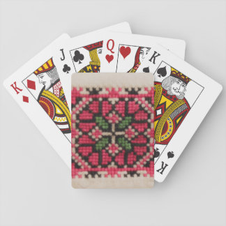 Ukrainian Embroidery Playing Cards
