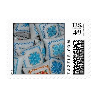 Ukrainian Embroidery Postage