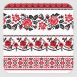 UKrainian ethnic pattern Sticker