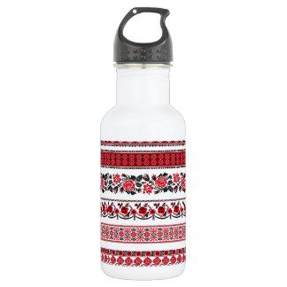 UKrainian ethnic pattern Water Bottle
