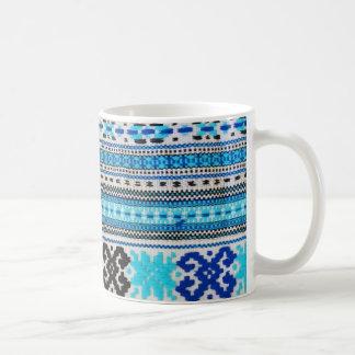 Ukrainian Folk Design Classic White Coffee Mug