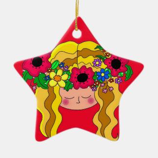 Ukrainian Girl Ornament