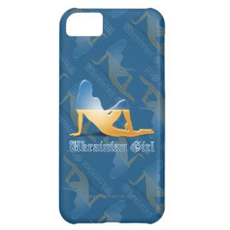 Ukrainian Girl Silhouette Flag iPhone 5C Cover