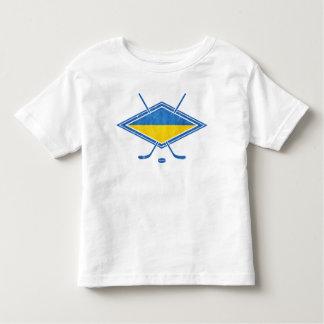 Ukrainian Hockey Flag Logo Toddler T-shirt