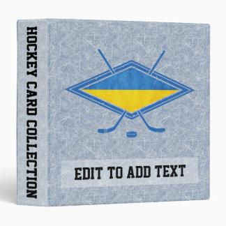 Ukrainian Ice Hockey Trading Card Album, Binder