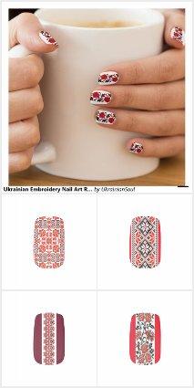 Ukrainian Nail Wraps
