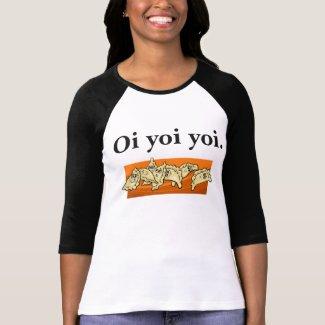 Ukrainian Oi Yoi Yoi Varenyky Perogies Shirt