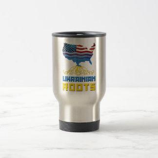 Ukrainian Roots Travel Mug