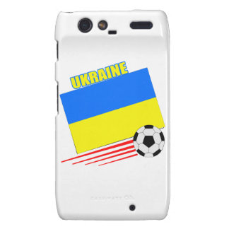 Ukrainian Soccer Team Droid RAZR Case