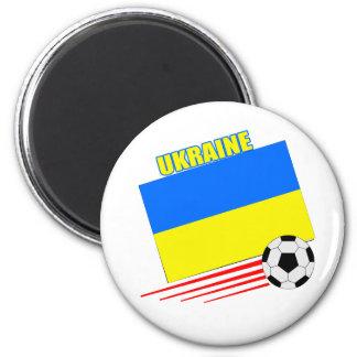 Ukrainian Soccer Team Magnet