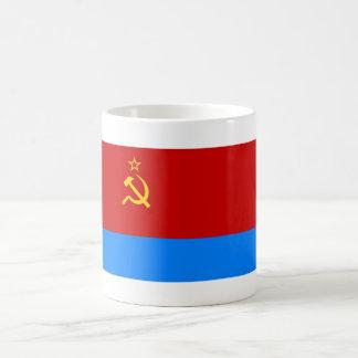 Ukrainian SSR Flag Classic White Coffee Mug