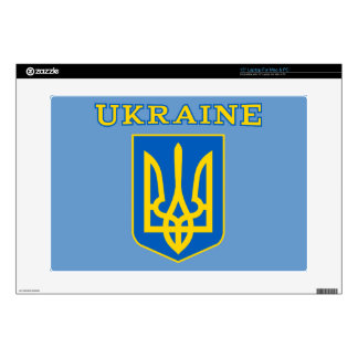 Ukrainian state coat of arms decal for laptop