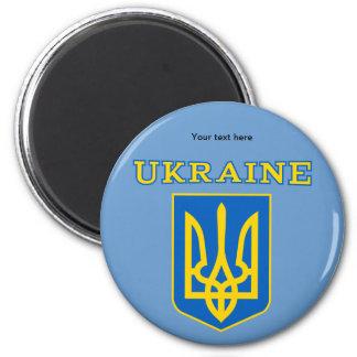 Ukrainian state coat of arms fridge magnets