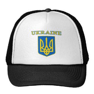Ukrainian state coat of arms trucker hat