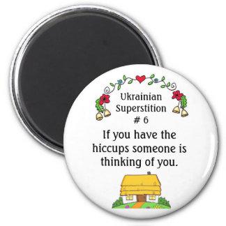 Ukrainian Superstitions Fridge Magnet
