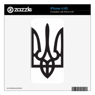 Ukrainian Trydent (Trident, Tryzub, Тризубец) Skins For The iPhone 4S