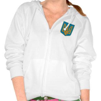 Ukrainian Tryzub Hooded Sweatshirts