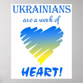 Ukrainians are... ~ Poster