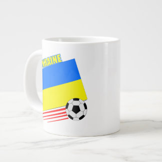 Ukranian Soccer Team Jumbo Mug