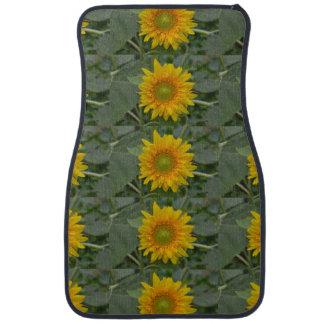 Ukranian Sunflowers Car Mat