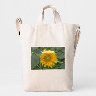 Ukranian Sunflowers Duck Bag