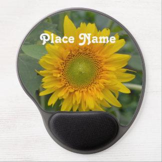 Ukranian Sunflowers Gel Mouse Pad