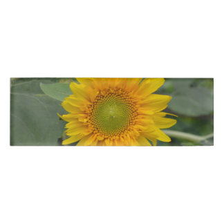 Ukranian Sunflowers Name Tag
