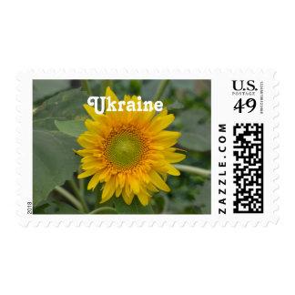 Ukranian Sunflowers Postage