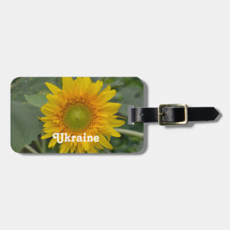 Ukranian Sunflowers Tag For Luggage