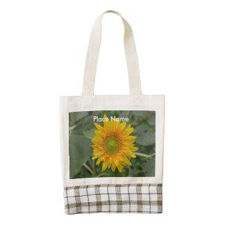 Ukranian Sunflowers Zazzle HEART Tote Bag