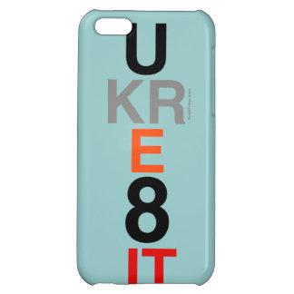UKRE8IT (You Create It) iPhone 5 Case (Aqua)