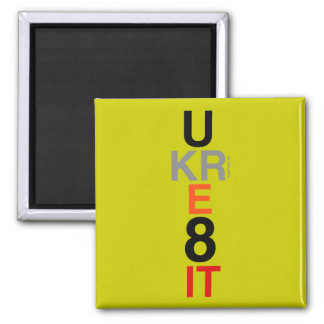 UKRE8IT (You Create It) Refrigerator Magnet