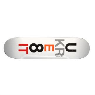UKRE8IT (You Create It) Skateboard Deck