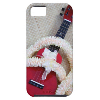 Ukulele and Satin Lei iPhone SE/5/5s Case