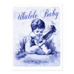 Ukulele Baby Postcard